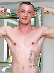 Young Straight Boxer Dave Loxley Shows off his Muscle by English Lads image #7