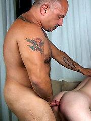 Jay Ricci Barebacks Kidd Red by Hot Older Male image #14