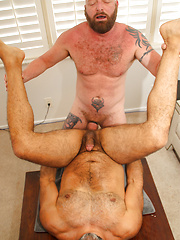 Dalton Hawg and Alejandro Skyman fucking by Hot Older Male image #15