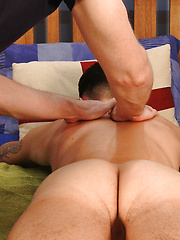 Young, Straight & Toned Marco's 1st Ever Man Handling & he Shoots Jizz Everywhere! by English Lads image #6
