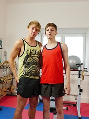 Twink Beno Eker Fucks Sexy Jock Rick Palmer In The Gym. by Jawked image #10