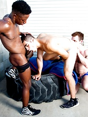Hit The Mat by Raging Stallion image #15
