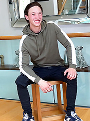 Young Straight & Extremely Ripped Harry Wanks his Huge Uncut Cock & Squirts a Big Load! by English Lads image #6