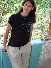 Cute long haired twink - Joshua by Sexy Twinks image #5