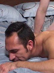 Diego Cruz and  Damien Horne anal sex by Hot Barebacking image #6