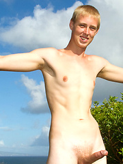 Scooter - 18, Blond Hung Surfer Twink Opens his Boy BUTT HOLE! by Island Studs image #7