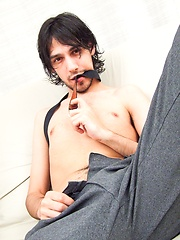 Gonzalo strokes uncut dick by Raging Stallion image #8