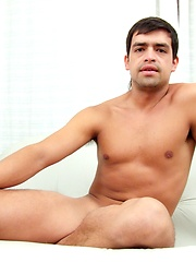 Latino uncut Mateo shows fat cock by Raging Stallion image #8