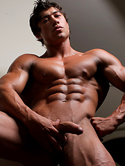 Pro bodybuilder Chad Harley shows his muscled uncut cock by Muscle Hunks image #10