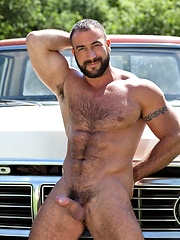 Hot muscle hairy hunk Spencer Reed by Colt Studio image #6