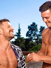 Muscled Paddy O\'Brian and Kyle King fucking by Falcon Studios image #8