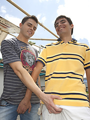 Young horny boys get to fucking in public by Out In Public image #6