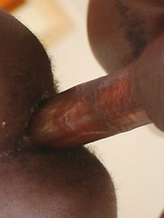 After a tribal ceremony, African twinks Patrick and Steven have a secret little bareback party. The get-together turns steamy when the boys start golden showers.. by 80gays image #8