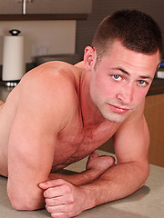 Carl shows his cock in the kitchen by SeanCody image #4