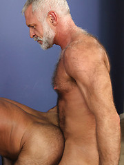 Old bears Allen Silver and Rocky LaBarre fucking by Pantheon Bear image #8