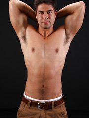Hot latin stud Cruz strokes his cock and shoots a load by ChaosMen image #8