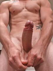 Sawyer strokes his big cock by SeanCody image #5