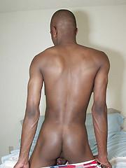 Slim ebony boi Juan shows his butt by Boys Nation image #4