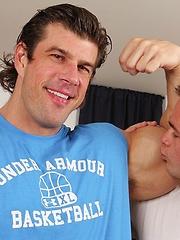 Horny bodybuilder Zeb Atlas fucks Mike De Marko by Cocksure Men image #9