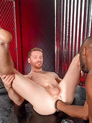 Black fist drills gay ass by Fetish Force image #11