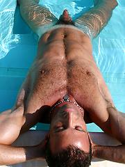 Hot muscle men in a pool by LucasKazan image #11