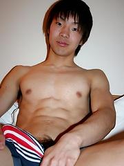 Satoshi - Bisexual Athlete Jerks Off by Japan Boyz image #6