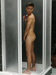 Cute twink gets his ass-hole stretched & pumped to the max! by William Higgins image #9