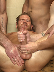 Loudmouth Gym Freak Fucked and Pissed on in Boxing Gym Locker Room  by Bound in Public image #18