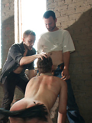 Hazing the brand new boy in front of a crowd - CMNM style by Bound in Public image #17