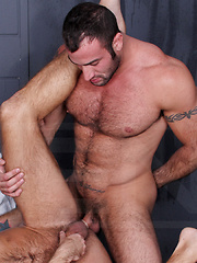Two Muscular Bodies! by Men image #12