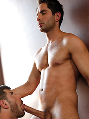 Michael Lucas meets with the sexy muscle-stud performer Adam Killian by Lucas Entetainment image #8