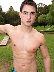 Handsome jock Adrian posing by SeanCody image #7