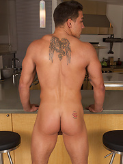 The beefy guy Tomy jacking off by SeanCody image #9