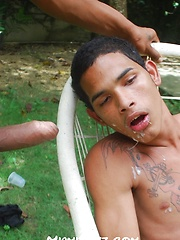Chico sucking Edwards thick cock by Miami Boyz image #12
