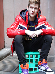 19 year old Olly Daniels - Hung Aussie skater by Bentley Race image #8