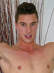 Tall & Lean Young Straight French Pup Vince Shows off his Big Uncut Cock! by English Lads image #6