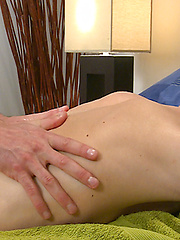 Straight Young Blond Pup Ben Cant Believe a Man is Making his Long Uncut Cock so Hard & Messy! by English Lads image #9