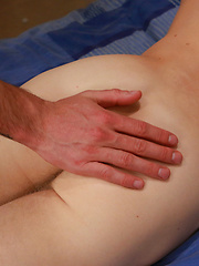 Straight Big Uncut Young Blond Footballer Ben Manhandled by a Guy for his First Time! by English Lads image #10