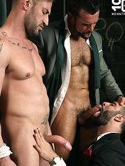 TIE HIM UP, Starring Denis Vega, Paco & Caleb Roca by Men at Play image #16