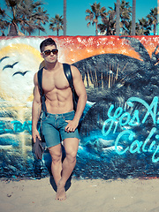 Welcome to LA, Venice - Lance Alexander and Diego Sans by Randy Blue image #9