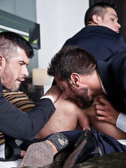 Sex After a Business Lunch Starring Adam Killian, Fernando Torres, and Valentino Medici by Lucas Entetainment image #15