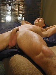 Peter Salz shows off his hairy ass before masturbating. by BF Collection image #6