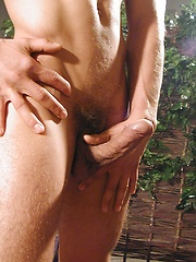 Ripped Luki Pyton plays with his hard cock. by BF Collection image #5