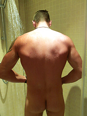 Tall & Hairy Young Straight Stud Leo gets his 1st Man Blow Job & Shoots Every Where! by English Lads image #10
