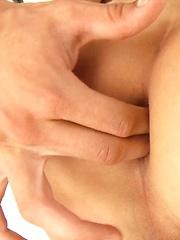 Marcel Gassion & Jack Harrer ass fuck and facial by BelAmi Online image #11