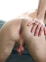 Shane jacking off uncut dick by Squirtz image #6