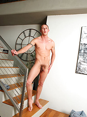 Hpot stud Trevor stripping by Playgirl image #4
