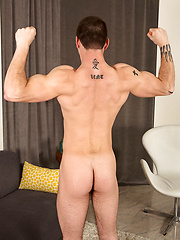 MUscled stud Roger shows his rock hard boner by SeanCody image #6