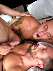 Nick North And Josh Milk Double Aaron Steel's Raw Pleasure by Lucas Entetainment image #9