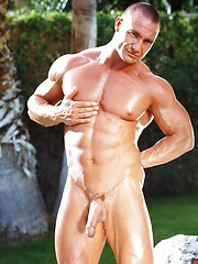 Hot muscle hunk JD Amos by Colt Studio image #7